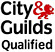 City of Guilds qualified logo
